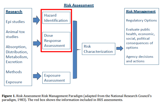 EPA's IRIS Risk Assessment Flow Chart